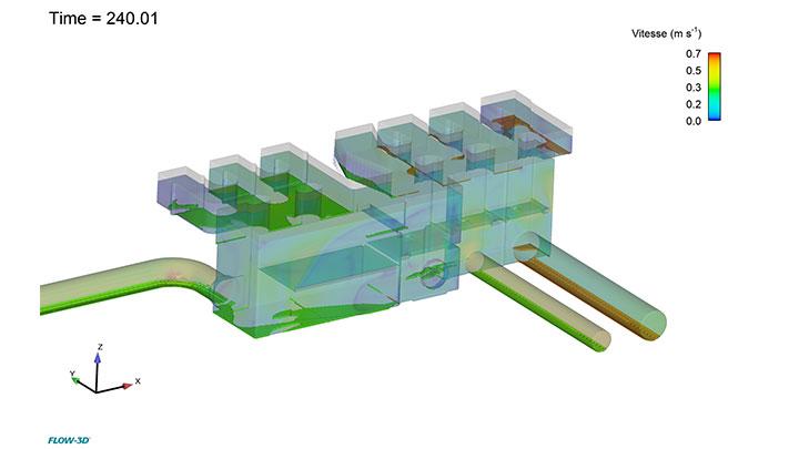 Modélisation 3D de la dynamique des bulles d'air dans une conduite de pompage immergée en mer